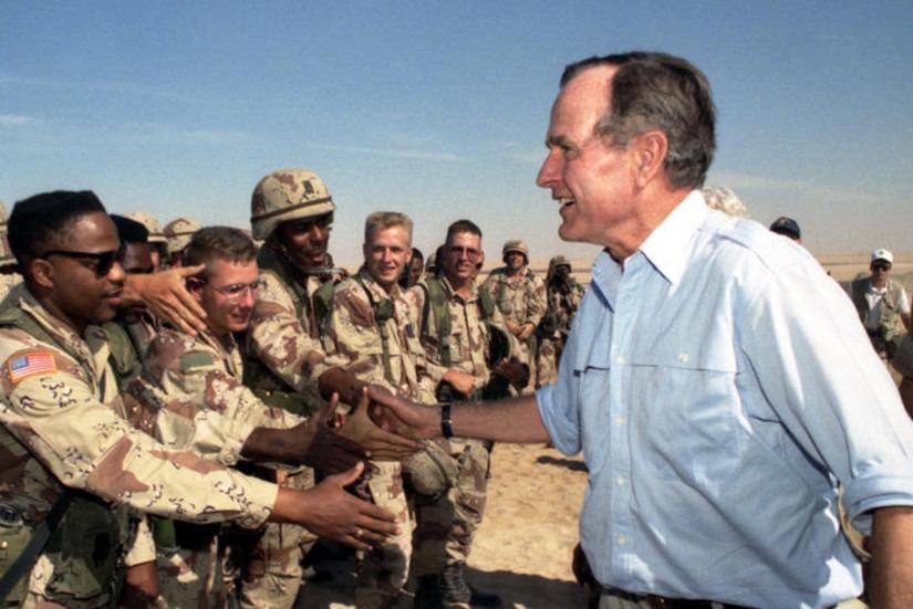 Desert Storm Presidente George H. W. Bush