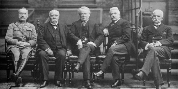 18 gennaio 1919: si apre la conferenza di pace di Parigi