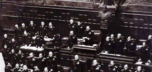 Fascismo-Mussolini-discorso