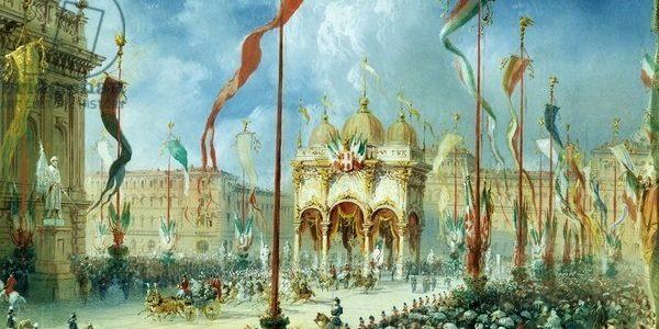 Vittorio Emanuele II inaugura a Torino il Parlamento del Regno d'Italia