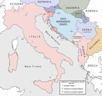 Annessioni Italia in Jugoslavia 1941