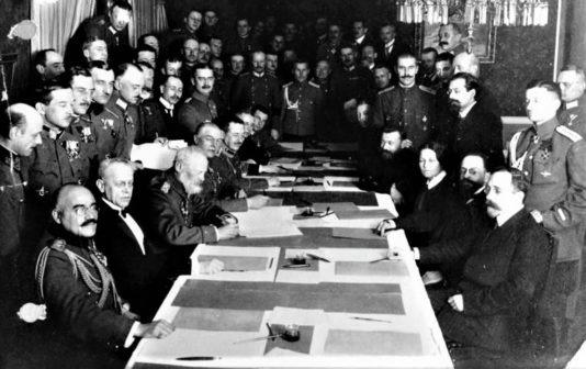 trattato di brest-litovsk