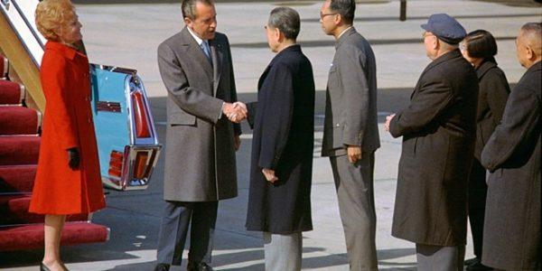 Nixon: la storica visita del presidente americano in Cina, 21 febbraio 1972