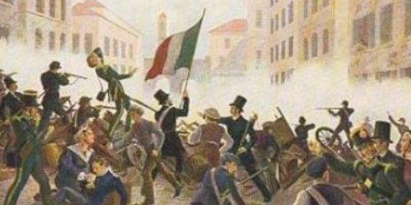 Le cinque giornate di Milano, 18 marzo 1848