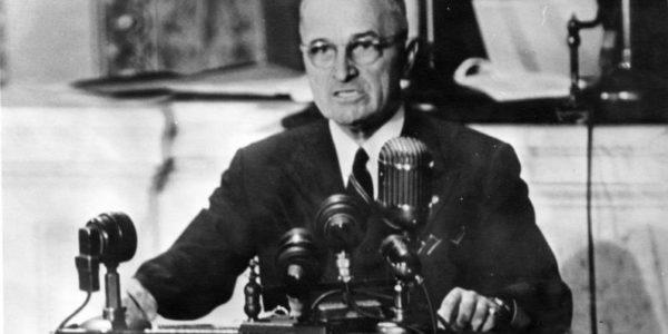 Dottrina Truman, 12 marzo 1947: inizia la guerra fredda