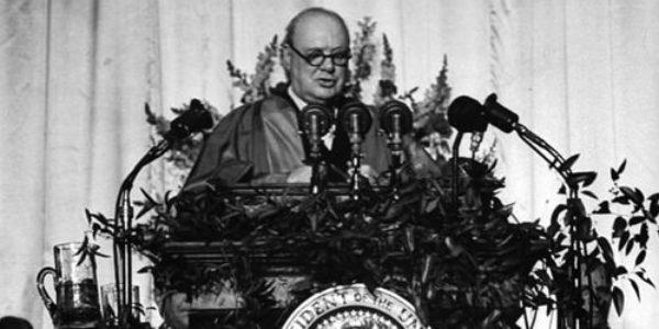 """5 marzo 1946: Churchill pronuncia il famoso discorso sulla """"Cortina di ferro"""""""