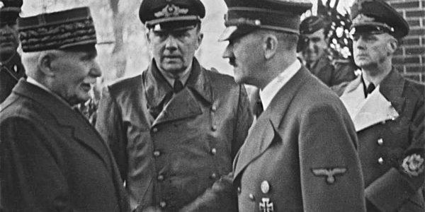 Pétain diventa premier della Francia collaborazionista di Vichy