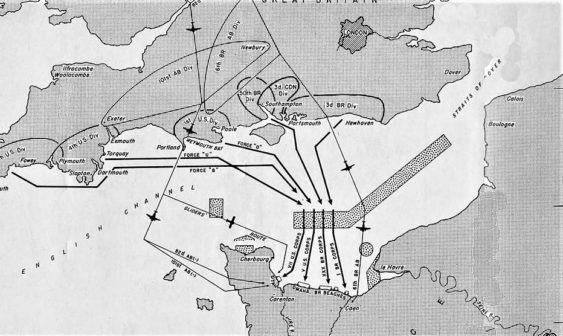 Sbarco in Normandia, piano d'invasione