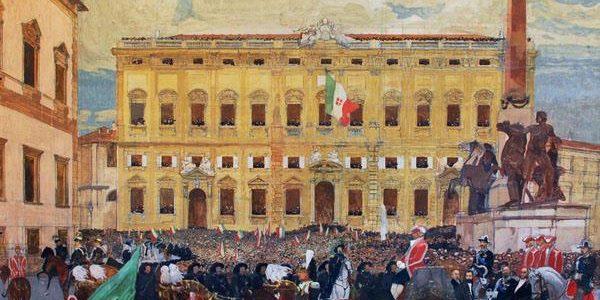 Vittorio Emanuele II entra a Roma, la nuova capitale del Regno d'Italia