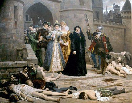 Strage degli ugonotti nella notte di San Bartolomeo