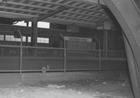 Bornholmer Strasse station