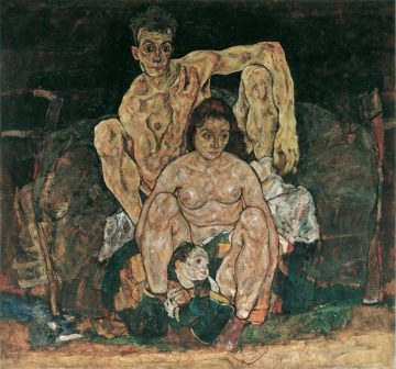 Egon Schiele influenza spagnola