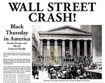 crollo di Wall Street 1929
