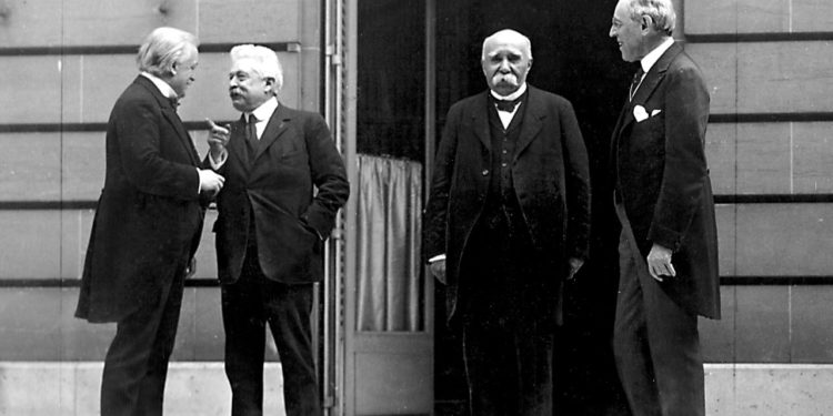 Wilson Trattato di Versailles