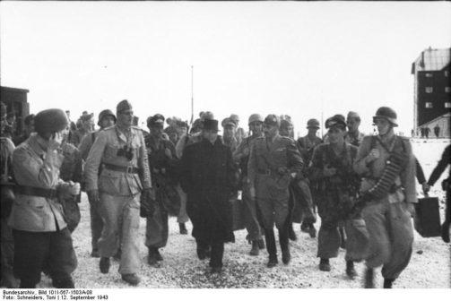 Mussolini liberato a Campo Imperatore
