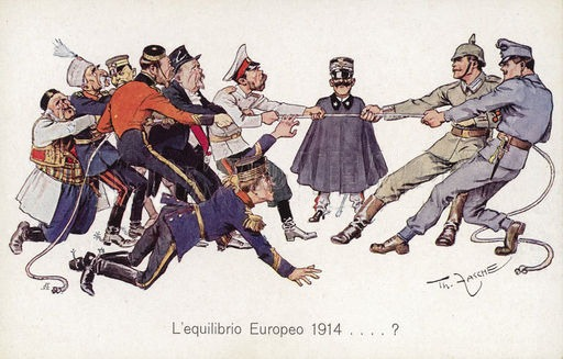 Vignetta satirica 1915