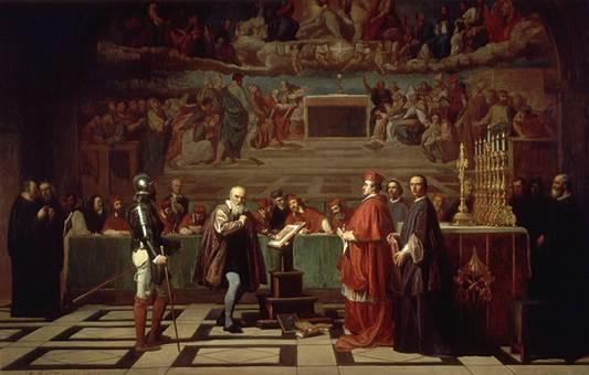 Galileo davanti al Sant'Uffizio