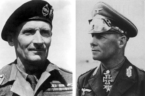 El Alamein, Montgomery e Rommel
