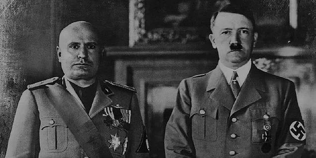 Mussolini e Hitler