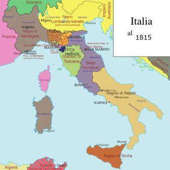 Italia 1815
