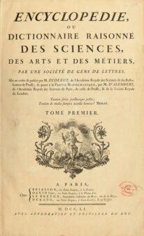 Encyclopedie - Illuminismo