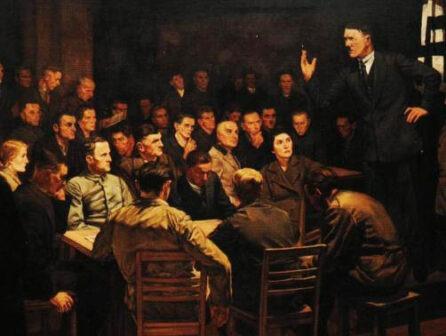 Hitler discorso birreria