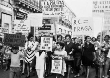 rivolta Reggio Calabria