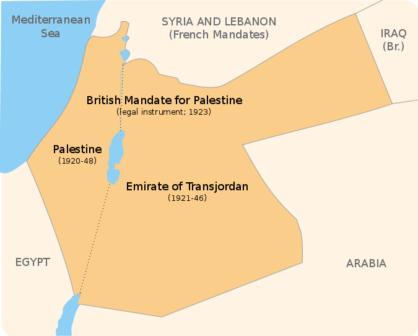 Mandato Britannico in Palestina