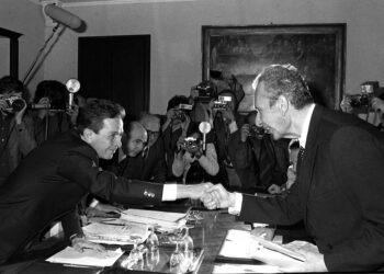 Berlinguer e Moro - Compromesso storico