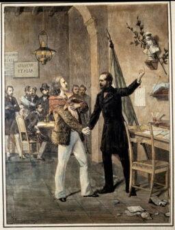 Primo incontro tra Garibaldi e Mazzini