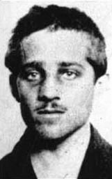 primo piano di Gavrilo Princip