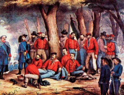 Garibaldi ferito Aspromonte
