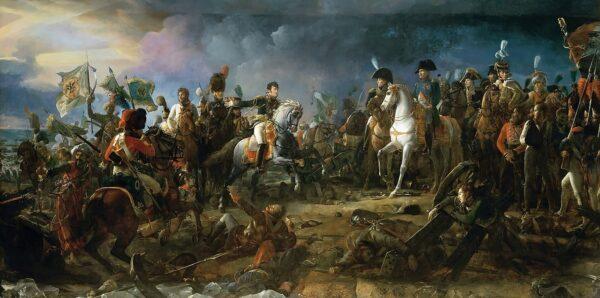 La battaglia di Austerlitz, dipinto dell'artista francese François Gérard