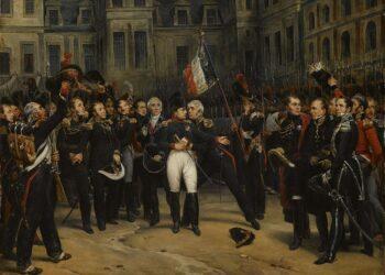 Addio di Napoleone alla Guardia imperiale
