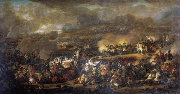 La battaglia di Lipsia