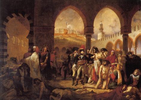 Napoleone visita gli appestati a Jaffa