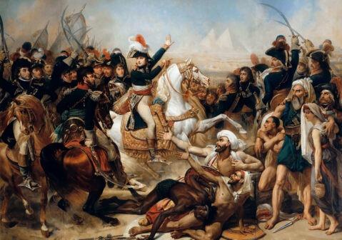 Battaglia delle piramidi, 21 luglio 1798