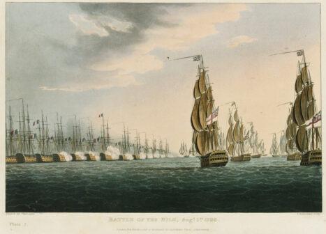 La battaglia del Nilo 1 agosto 1798