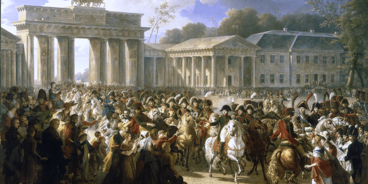 Napoleone entra a Berlino