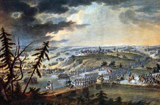 Napoleone - attraversamento fiume Neman