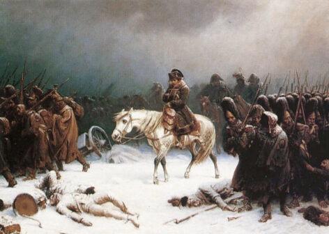 Napoleone - ritirata da Mosca