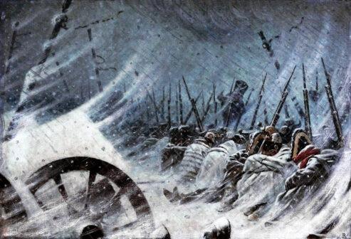 ritirata francese dalla Francia