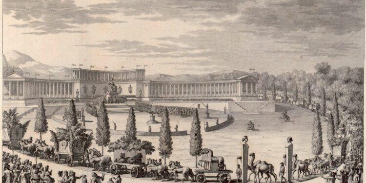 Spoliazioni napoleoniche - corteo a Parigi