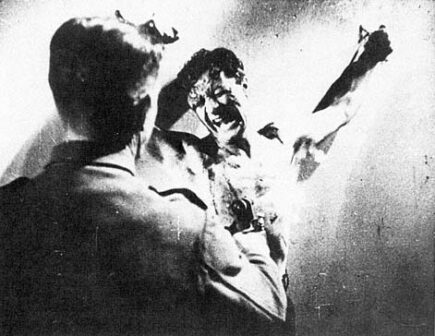 Fotogramma tortura Manfredi