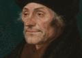 Erasmo da Rotterdam ritratto da Hans Holbein